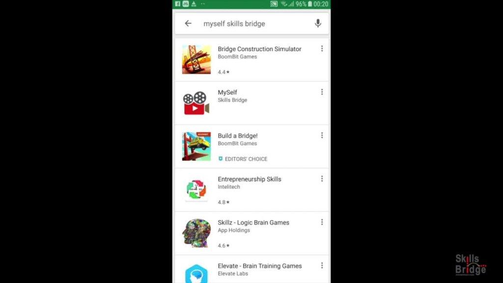 """Tutorial zur mobilen Applikation """"MySelf"""""""