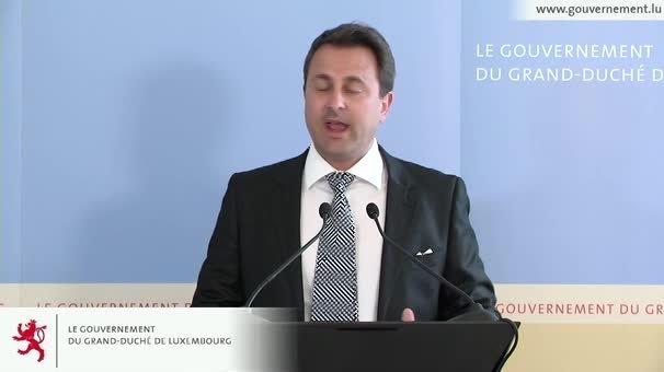 Vidéo du briefing du Premier ministre