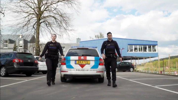Du wollts schonn ëmmer Polizistin oder Polizist ginn an hues eng Première?