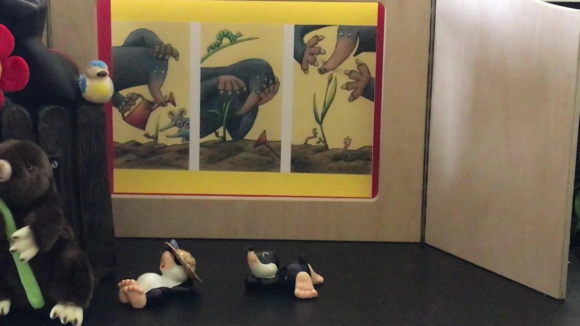 »De Maulef an d'Blimmchen« (vu 4 Joer un) vum Tanja Brück & Dorota Wünsch (Editions Binsfeld)
