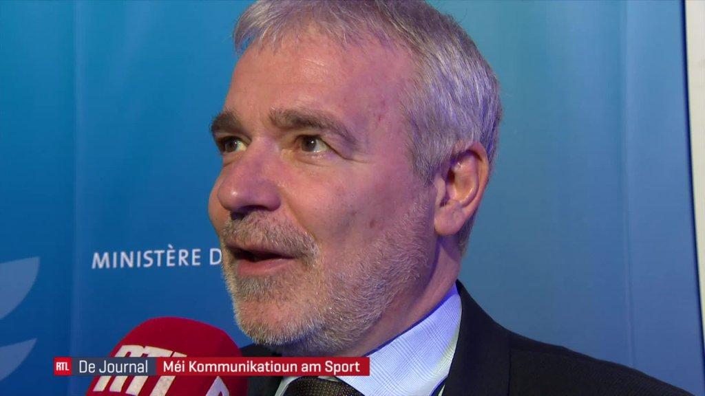 Réception de nouvel an du ministre des Sports, Dan Kersch, le mardi 28 janvier 2020 à la Coque (vidéo I)