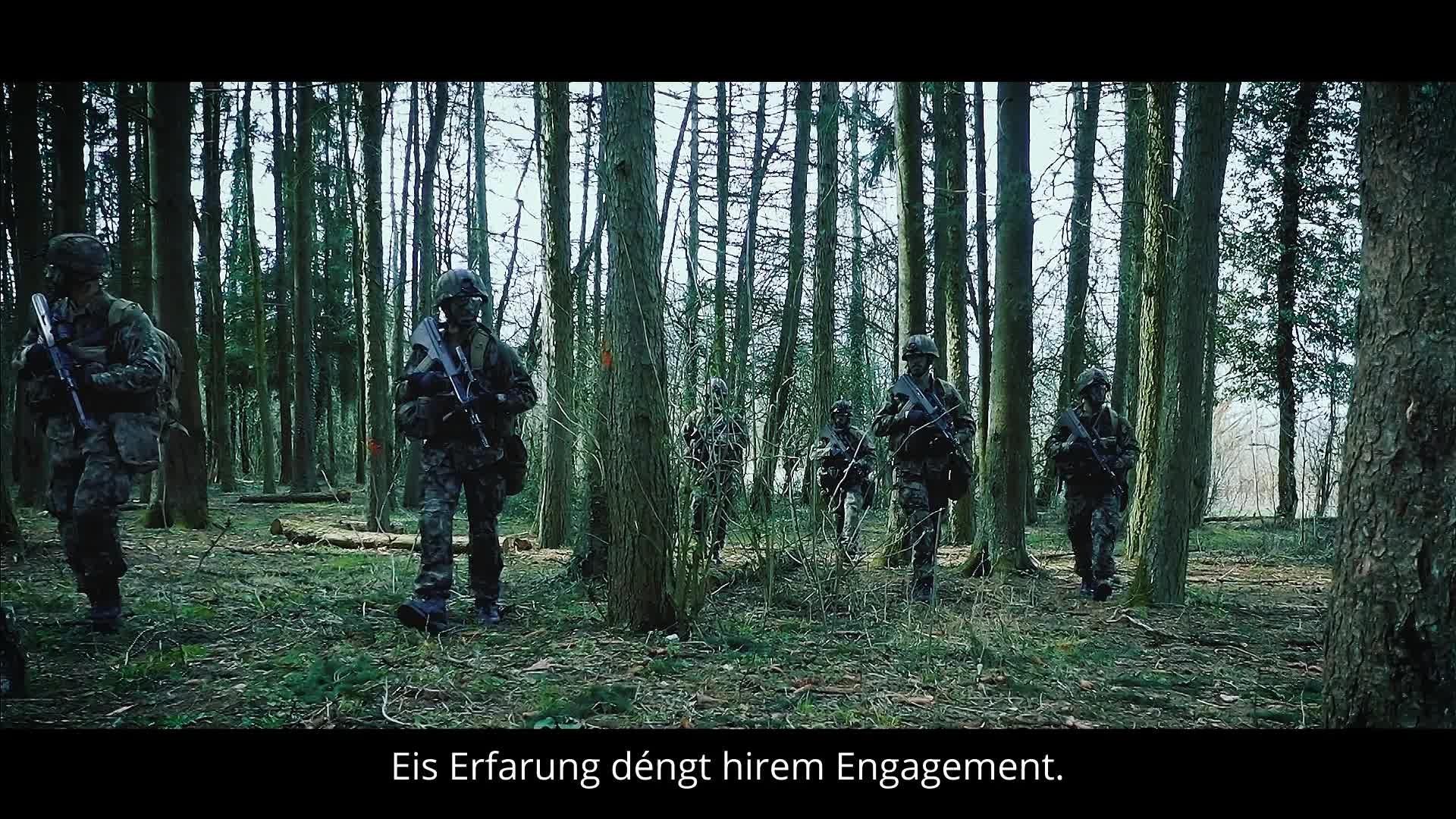 Métiers civils de l'Armée luxembourgeoise -sous-titre LB