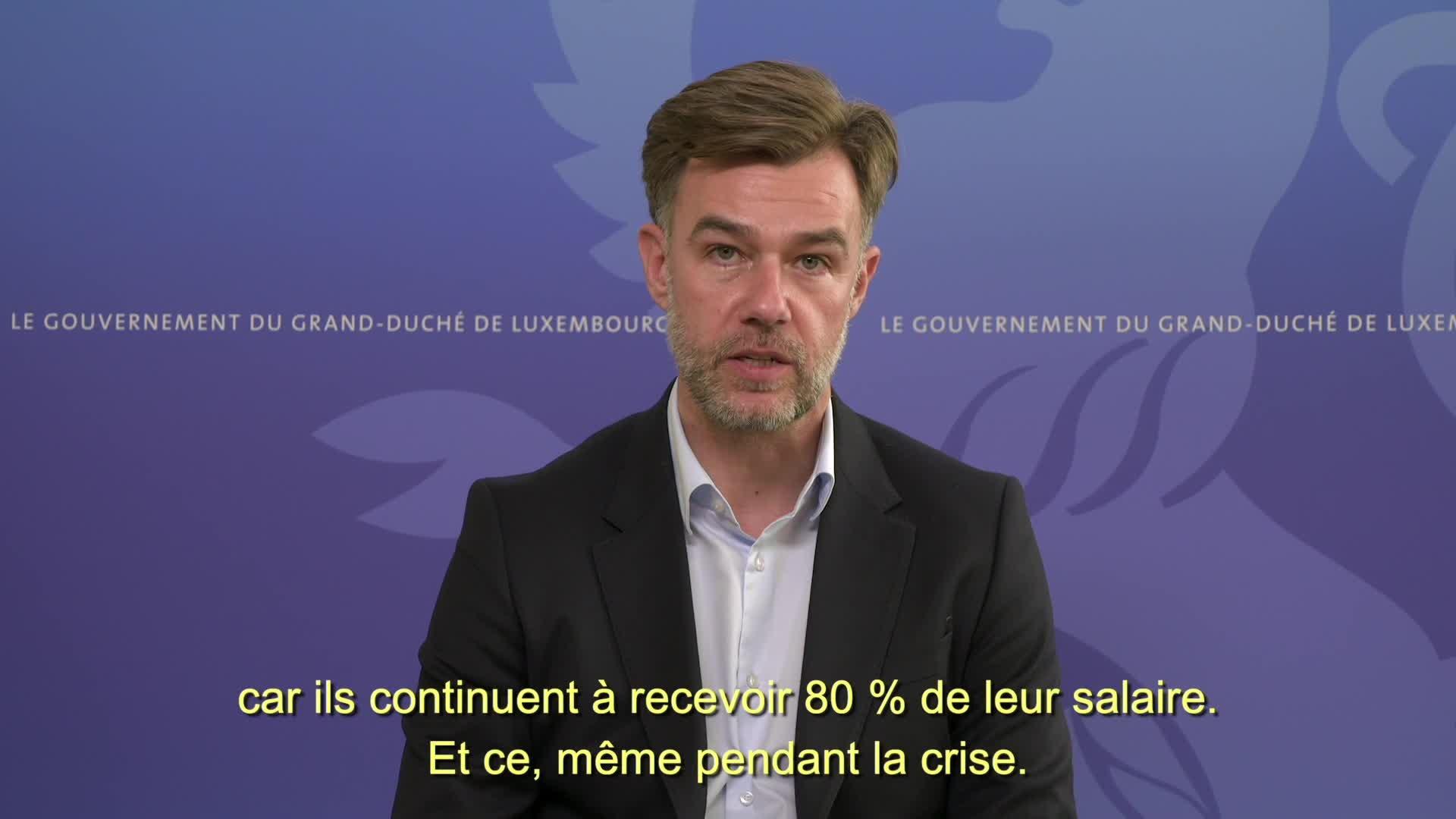 Covid-19 : Le ministre de l'Économie, Franz Fayot, informe (2)
