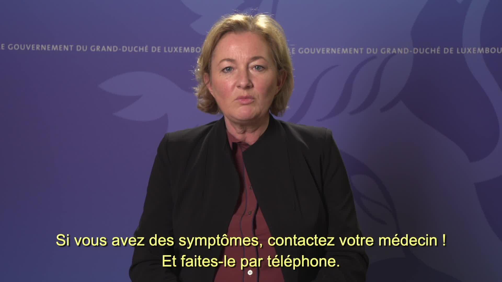 Covid19 - 4 questions à Paulette Lenert, ministre de la Santé